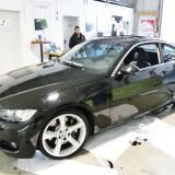 BMW folieren schwarz