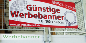 Banner drucken