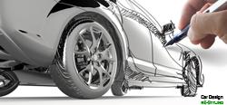Fahrzeugbeschriftung design