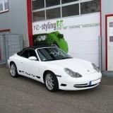 Porsche bekleben