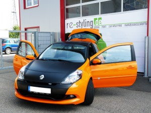 Renault FOlierung
