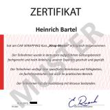 Zertifikat Folierung