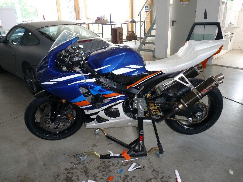 Vollverklebung-Motorrad