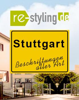 Fahrzeugbeschriftung Stuttgart