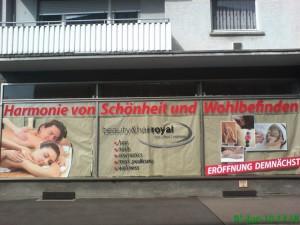 Schaufensterbeschriftung Karlsruhe