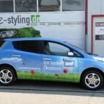 Fahrzeugbeschriftung im Digitaldruck
