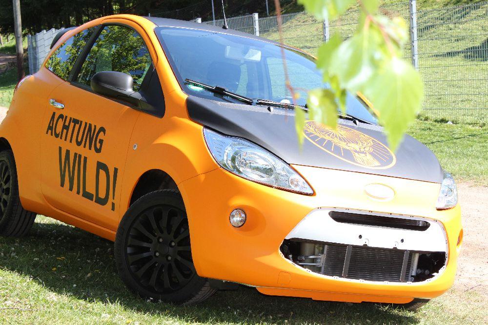 Autofolierung Ford KA