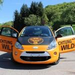 Folierung in orange matt Ford Ka