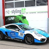 Car Wrapping porsche Cayman