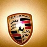 Goldener Porsche