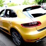 Gold Porsche Macan